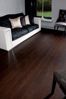 Oak dark chocolate traditional hardwood flooring for Hardwood flooring toronto