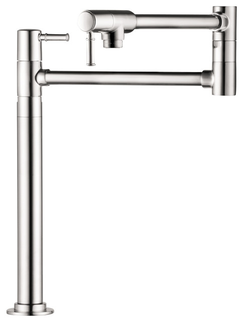 Hansgrohe 4219000 Talis C Pot Filler Deck Mounted In