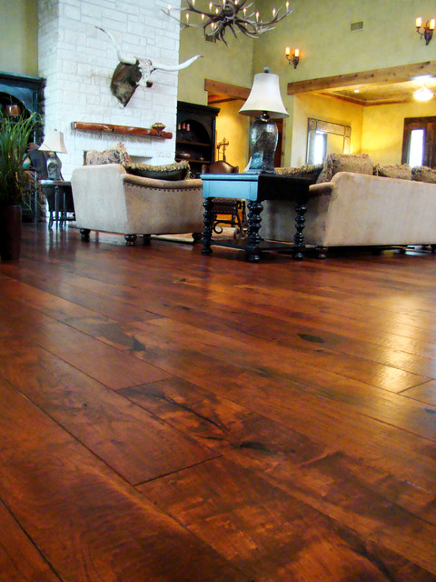 Texas mesquite for Rustic floors of texas