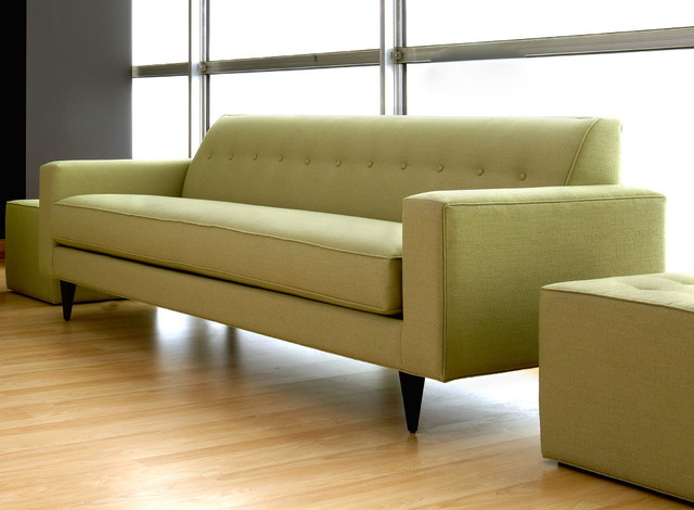 Eclectic Sofa : Sally Mid-Sized Sofa - Eclectic - Sofas - other metro - by Designing ...