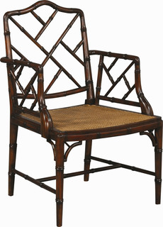 Chinese Chippendale Dining Chairs - Traditional - Dining ...