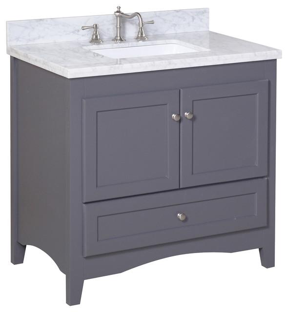 Abbey 36 Inch Bathroom Vanity Transitional Bathroom