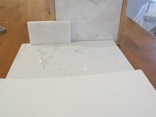 Does A Marble Backsplash Work W Cambria Torquay