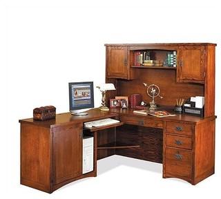 Pasadena Computer Workstation - Modern - Home Office Accessories
