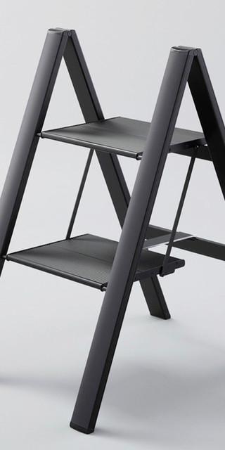 Folding Step Stool Ladder Lightweight Ultraslim Step