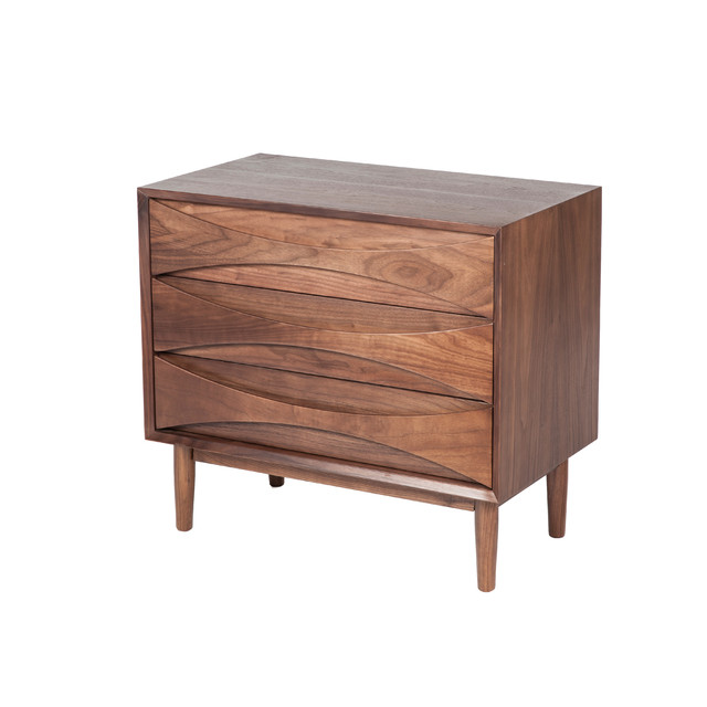 alva 3 drawer chest r tro commode et chiffonnier par control brand. Black Bedroom Furniture Sets. Home Design Ideas