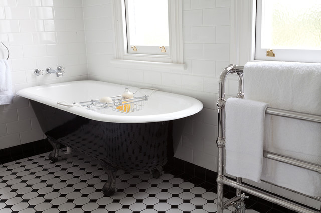 Art Deco Bathroom Traditional Auckland By In Residence Kitchen Bat