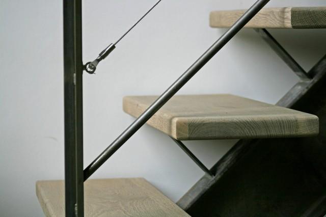 style industriel poutre centrale ipn acier brut contemporain other metro par hallou. Black Bedroom Furniture Sets. Home Design Ideas