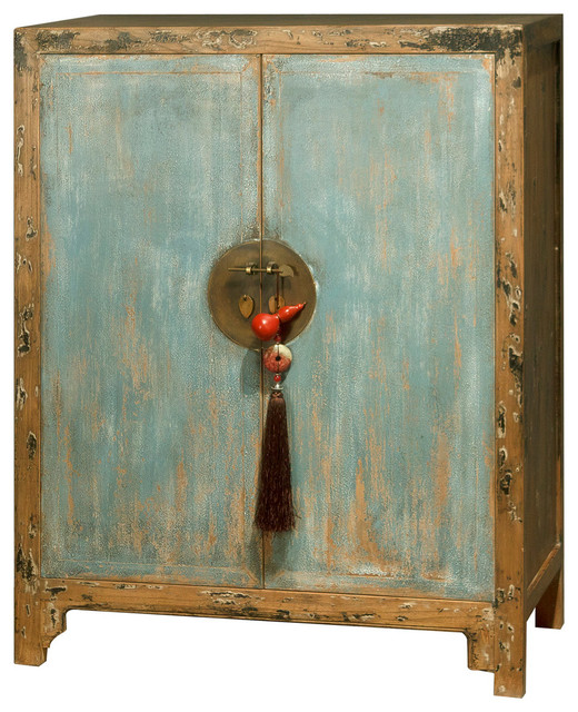 Elmwood Ming 2-Door Cabinet - Asian - Accent Chests And Cabinets - by ...