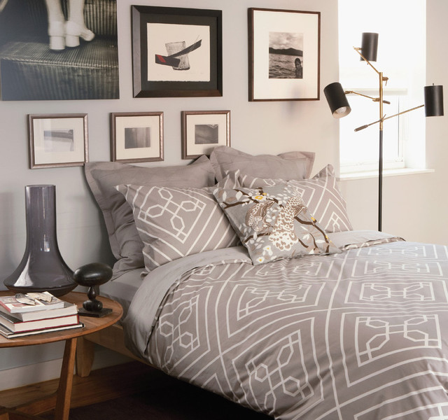 dwellstudio trellis bedding in dove modern duvet covers