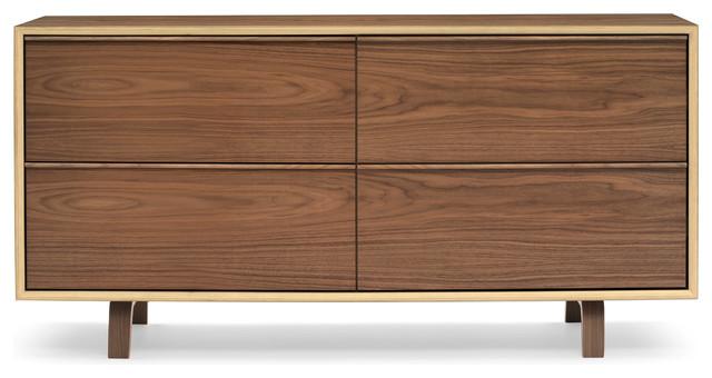 Cherner 4 File Drawer Cabinet - Modern - Filing Cabinets