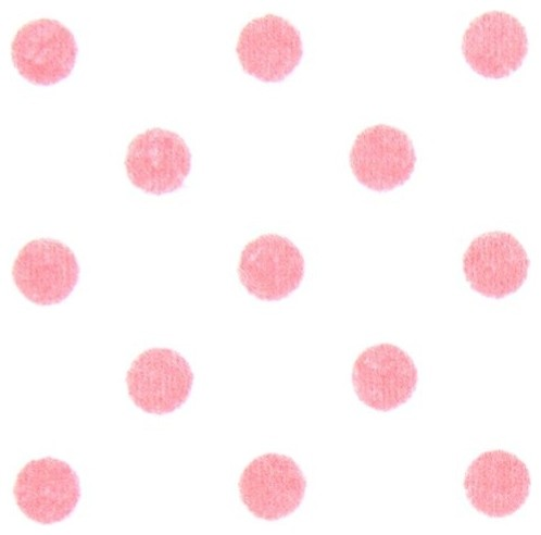 white michael miller flannel fabric pink polka dots fabric. Black Bedroom Furniture Sets. Home Design Ideas