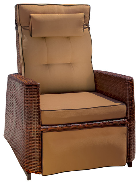 Westwood Outdoor Glider Recliner Chair beach style outdoor