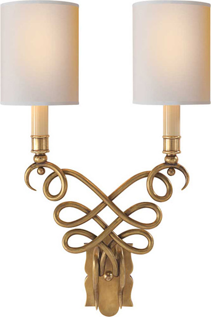 Catherine Wall Sconce - Traditional - Wall Sconces - other metro - by Circa Lighting