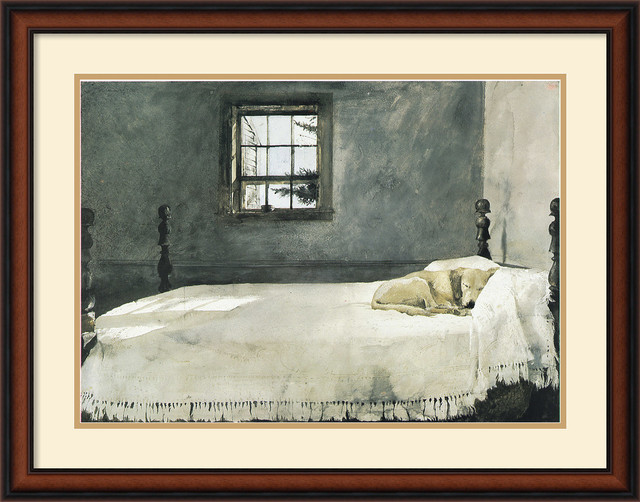 Master Bedroom Framed Print By Andrew Wyeth Traditional Prints And Posters By Amanti Art