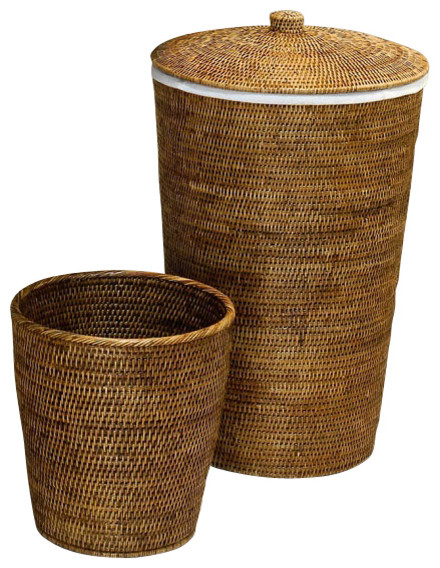 harmony 105 set of two baskets in rattan