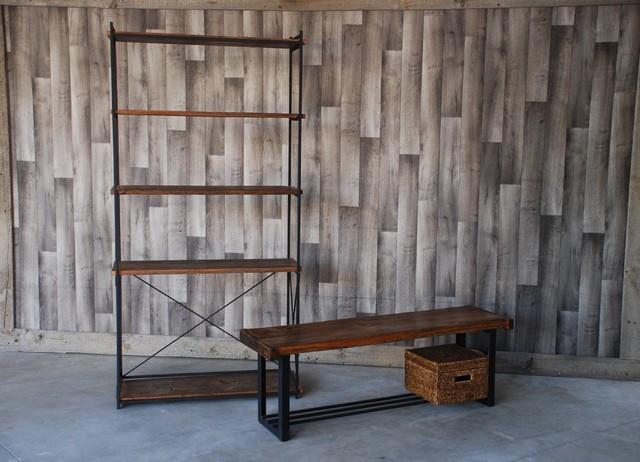 iron wood shelves 3