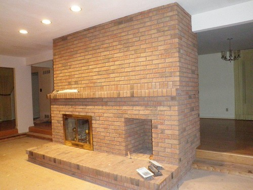 Need Help Updating Central Structure Fireplace