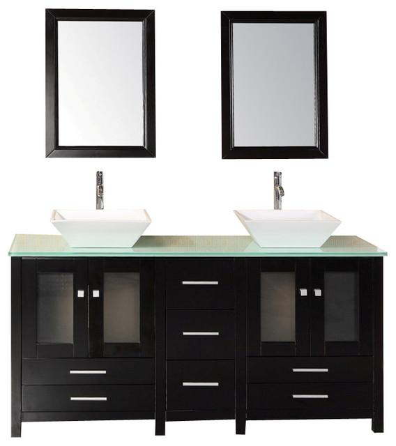 design elements dec072b g vanity in espresso modern