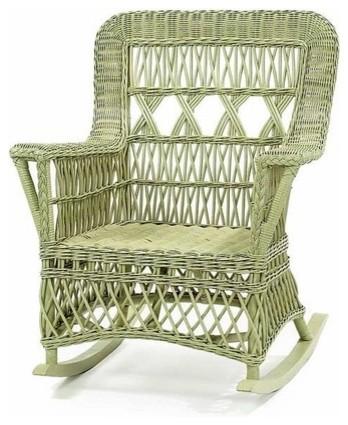 wicker rocker outdoor furniture 2