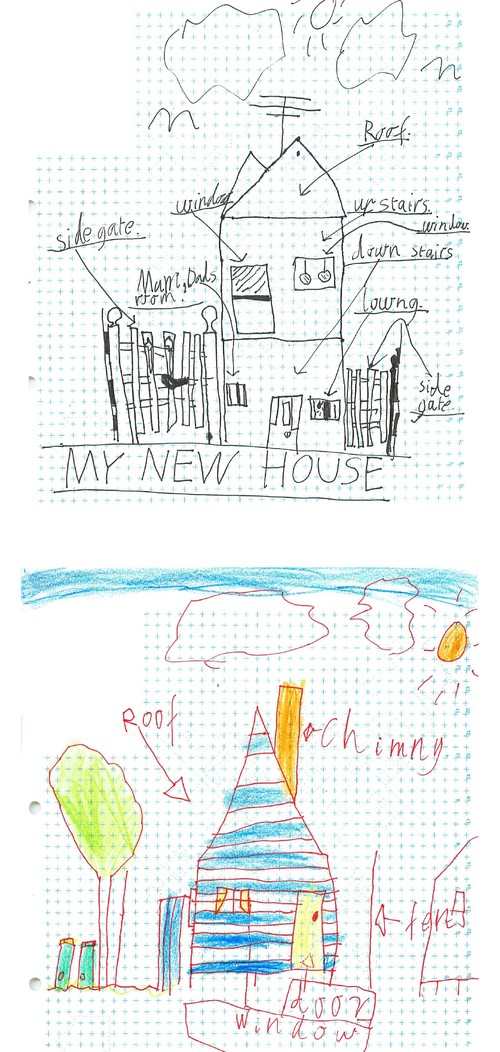 Houzz Tour: Sketches by Two Lively Boys Inspire Tardis-like Family Home
