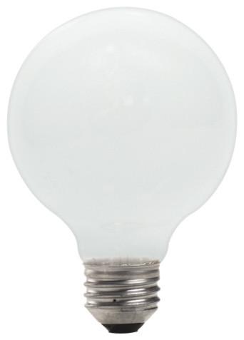 72 Watt Eco Friendly Soft White Halogen G25 Globe Bulbs 12 Bulbs Contemporary Halogen Bulbs