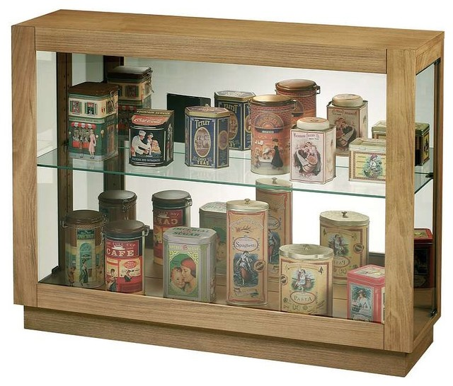 Howard Miller Marsh Bay Console Curio Cabinet - Traditional - China ...