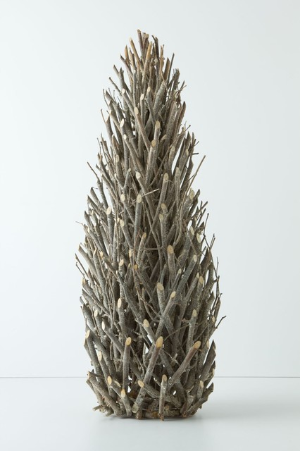 Tall Twig Tree Contemporary Christmas Trees by