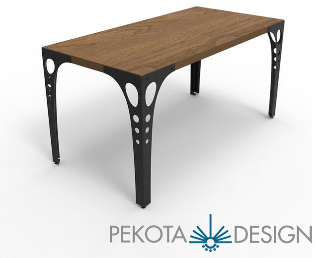 Pekota Design PK10 Wood Table Modern Dining Tables  : modern dining tables from www.houzz.com.au size 640 x 520 jpeg 45kB