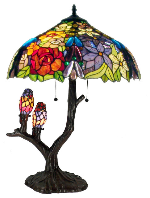 Warehouse Of Tiffany Sarah Camille Table Lamp