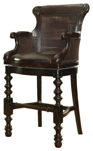 Tommy Bahama Kingstown Dunkirk Swivel Bar Stool