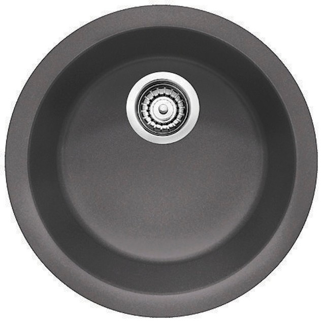 Blanco Rondo Bar Sink, Cinder - Contemporary - Bar Sinks - by The ...