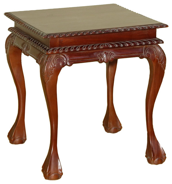 Consigned Antique Solid Mahogany Chippendale Claw & Ball