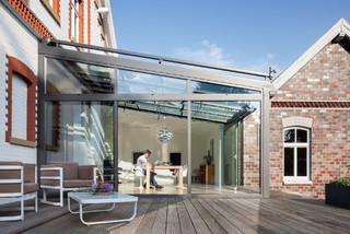 solarlux wintergarten country conservatory bremen. Black Bedroom Furniture Sets. Home Design Ideas