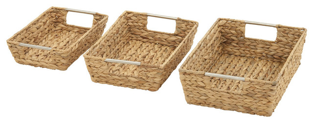 Sea Grass Basket Set Of  W Traditional Baskets By