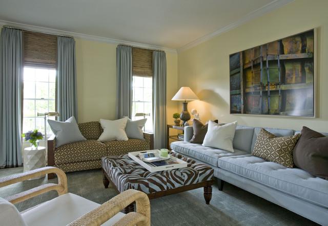 Hamptons ny residence for Hamptons living room designs