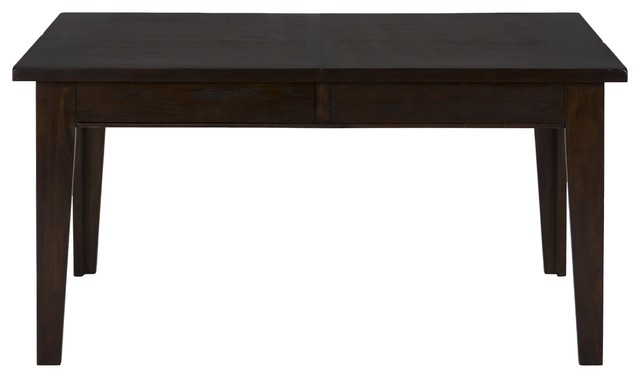 Legacy Dining Table With Extension Leaf And Drawer Storage Transitional D