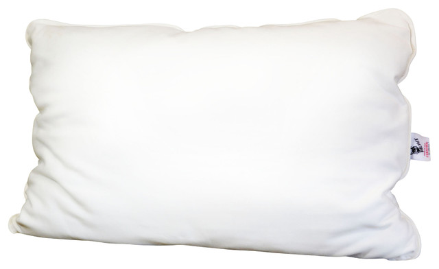 Therapedic Traditional Bed Pillow : Malpaca Pillow, Natural White, Standard, Light Fill - Traditional - Bed Pillows - by Malpaca