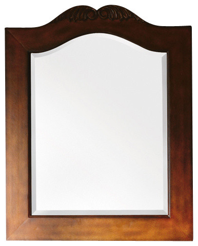 St James 32 Mirror Cherry Traditional Bathroom Mirrors By James Martin Furniture