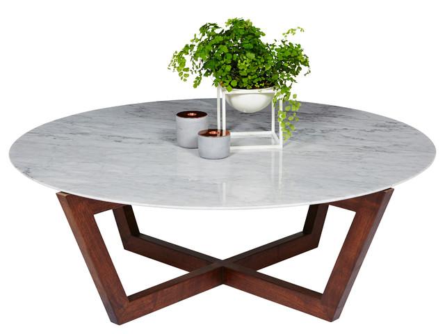 Italian carrara marble and american walnut furniture for Coffee tables sydney