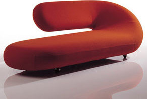 Chaise lounge sofa by artifort modern chaise longue for Artifort chaise lounge