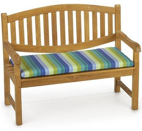 outdoor rectangular bench cushion seaside seville contemporary outdoor benches