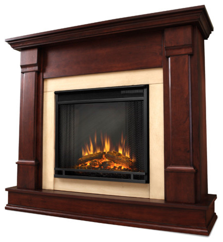 Real Flame Silverton Electric Fireplace Modern Indoor Fireplaces