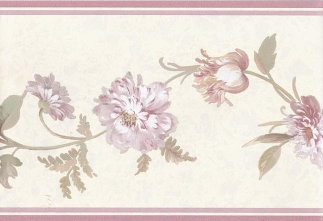 flower wallpaper floral border - photo #29