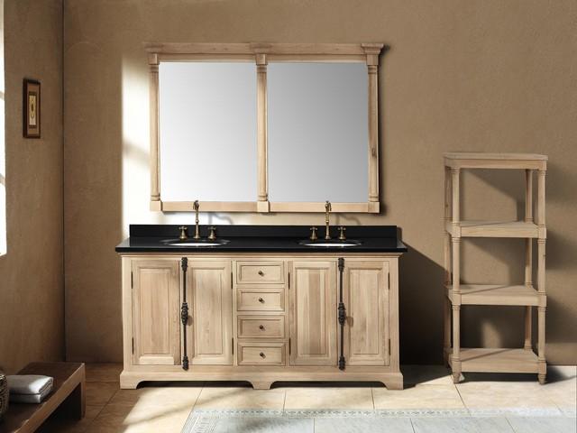 71 Castelli Double Sink Vanity Natural Oak Transitional Bathroom Vanities And Sink
