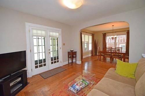 Front Door opens directly into living room-- Help Please :)