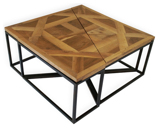 Table basse eclectic coffee tables other metro by Eclectic coffee table makeovers