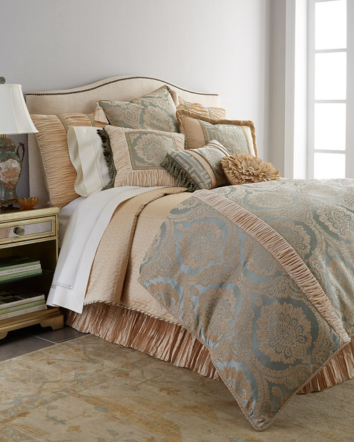King Quilted Silk Duvet Cover 108 Quot X 95 Quot Contemporary