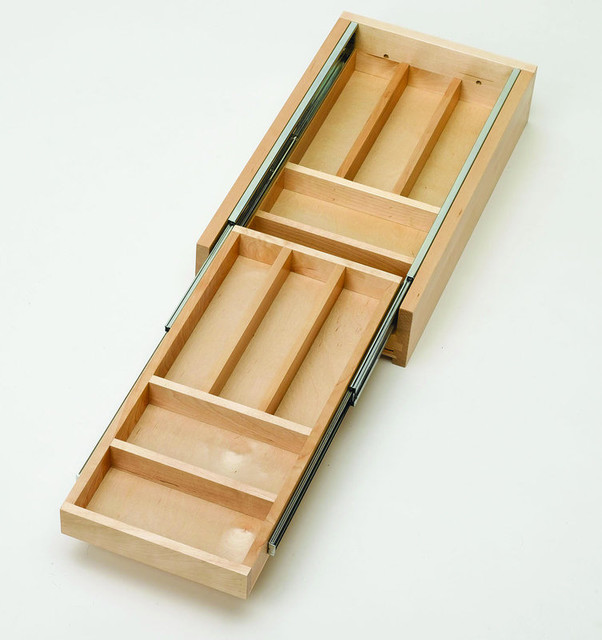 Rev-A-Shelf 4WTCD-18-1 4WTCD Series Two-Tiered Cutlery ...