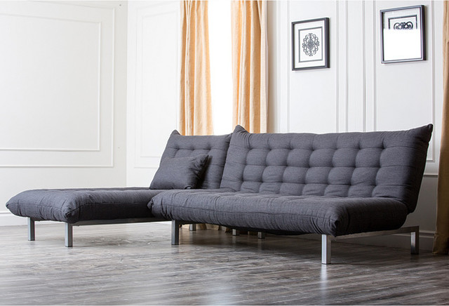 lakeland convertible sofa bed component chaise